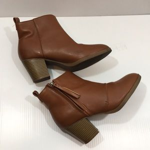 Old Navy | Rust Ankle Booties
